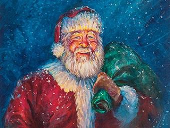 Cosmic Santa